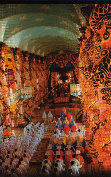 Cao Dai Religion in Viet Nam